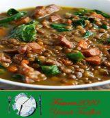 Jambonlu Özel Mercimek Çorbası Tarifi