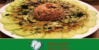 Salatalık Üstü Somon Tartar Tarifi